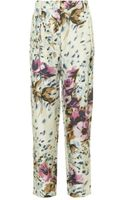 By Malene Birger Asmines Floral Trousers - Lyst