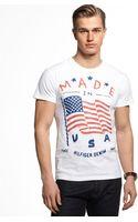 Tommy Hilfiger Flag Tshirt - Lyst
