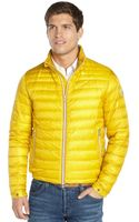 Moncler Yellow Quilted Zip Front Daniel Down Jacket - Lyst
