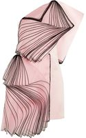 Christopher Kane One-shoulder Layered Silk Organza-paneled Satin Mini Dress - Lyst