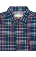 Ben Sherman Dark Bright Madras Check Shirt - Lyst