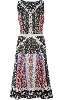 Peter Pilotto Nico Printed Silk Dress - Lyst