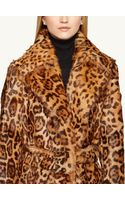Ralph Lauren Black Label Shearling Harper Coat - Lyst