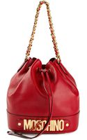 Moschino Bucket Shoulder Bag - Lyst