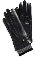 Hugo Boss Gl 236  Cashmerelined Leather Gloves - Lyst