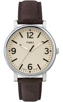 Timex® Originals Classic Brass  Leather Watch - Lyst