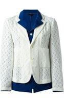Comme Des Garçons Vintage Layered Jacket - Lyst