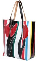 Marni Fosteriana Printed Pvc Tote Bag - Lyst