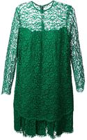 Ermanno Scervino Floral Lace Dress - Lyst