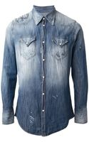 DSquared2 Denim Shirt - Lyst