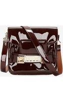 Proenza Schouler Ps11 Classic Patent Leather Tiny Burgundy - Lyst