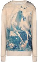 Stella McCartney Unicorn Print Jumper - Lyst
