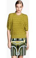 H&M Fine-knit Top - Lyst
