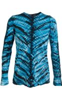 Proenza Schouler Cotton Tie Dye Top - Lyst