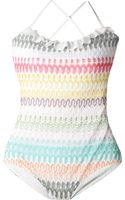 Missoni Crochet Swimsuit - Lyst