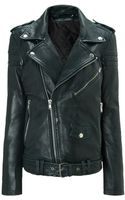 BLK DNM Emerald Leather Jacket 8 - Lyst