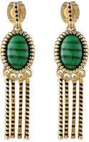 House Of Harlow Sunburst Fringe Earrings - Lyst