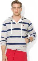 Polo Ralph Lauren Polo Striped Fleece Hoodie - Lyst