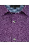 Ted Baker Paisley Print Shirt - Lyst