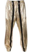 Vivienne Westwood Cracked Print Trousers - Lyst