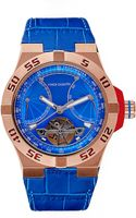 Vince Camuto Croco Master Watch - Lyst