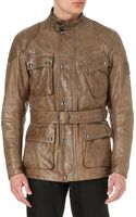 Belstaff Panther Handwaxed Leather Jacket Birch - Lyst