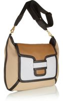 Pierre Hardy Colorblock Leather Shoulder Bag - Lyst