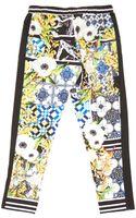 Clover Canyon Skinny Printed Motif Drawstring Pants - Lyst
