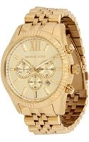 Michael Kors Collection Mens Lexington Chronograph - Lyst