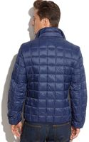 Michael Kors Michael Canon City Packable Down Boxquilt Puffer - Lyst