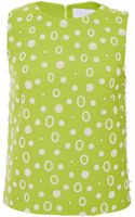Osman Yousefzada Viscose Open Back Tank in Lime Green - Lyst