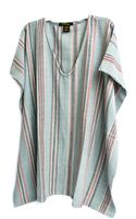 A Peace Treaty Nukutoa Caftan in Light Blue - Lyst