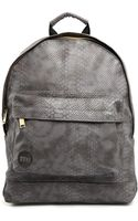 Mi-pac Mi Pac Backpack in Faux Python - Lyst