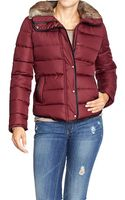 Old Navy Frost Free Faux Fur Trim Jackets - Lyst