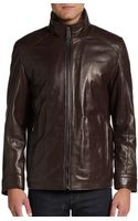 Marc New York By Andrew Marc Shelby 28 Leather Jacket - Lyst