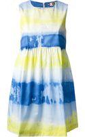 MSGM Tie Dye Dress - Lyst