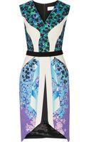 Peter Pilotto Karlie Printed Woven Dress - Lyst