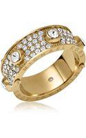 Michael Kors Astor Golden Stud Ring - Lyst