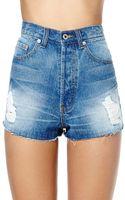 Nasty Gal Take It Easy Boyfriend Cutoff Shorts - Lyst