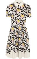 Alice By Temperley Louis Printed Washedsilk Dress - Lyst