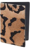 J.Crew Calf Hair Passport Case - Lyst