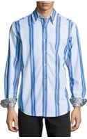 Robert Graham Purcell Classic Striped Sport Shirt - Lyst