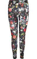 McQ by Alexander McQueen Festival Floral Print Leggings - Lyst