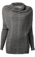 Rick Owens Crater Knit Sweater - Lyst