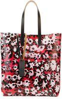 Marni Flowerprint Pvc Shopping Bag Raspberry - Lyst