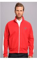 Fred Perry Tipped Track Jacket - Lyst