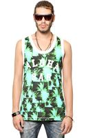 Diesel Exotic Cotton Jersey Tank Top - Lyst