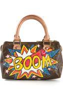 Rewind Vintage Affairs Mini Boom Print Bowling Bag - Lyst