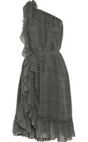 Isabel Marant Aiden Printed Silkcrepe Dress - Lyst