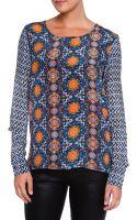 Tolani Miranda Printed Tunic Blouse - Lyst